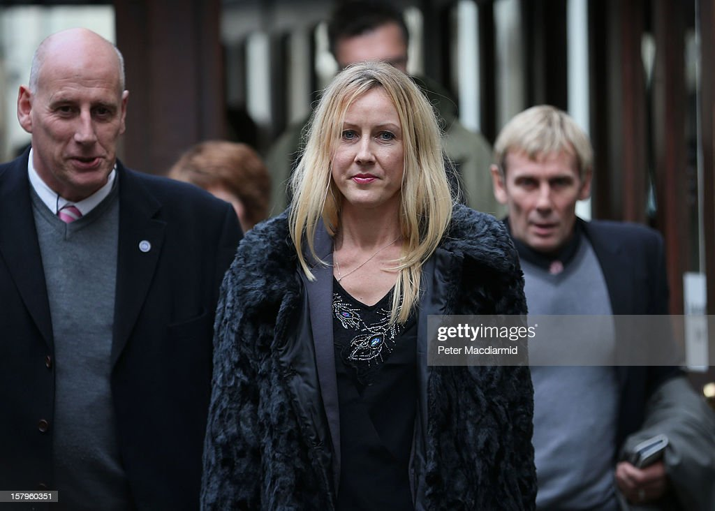 Sally Roberts, mother of Neon Roberts, leaves The High Court on December 8, 2012 in London, England. A judge will make a ruling on whether a local health authority should give Sally Roberts's seven-year-old son, who has a brain tumour, cancer treatment against her wishes.