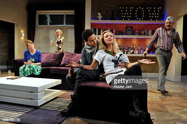 Sally Rogers as Sally Beth Cordingly as Louisa John MacMillan as Castro Emily Berrington as Effie and Darrell D'Silva as Michael in Mathew Dunster's...