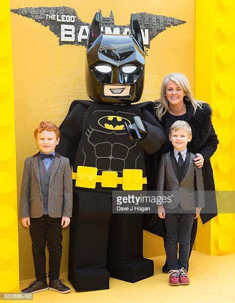 Sally Sally Lindsay attends 'The Lego Batman Movie' Red Carpet Arrivals on January 28 2017 in London United Kingdom