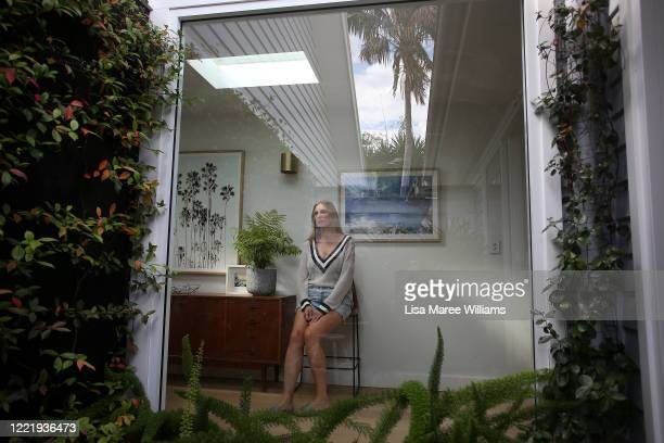 Sally Stokes owner of event construction company Bestoked isolates at home on April 29 2020 in Sydney Australia Our industry which services a variety...