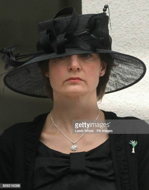 Sally Thorneloe widow of Lieutenant Colonel Rupert Thorneloe commanding officer of the 1st Battalion Welsh Guards who was killed in Afghanistan on...