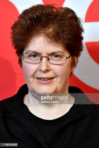Sally Wainwright attends BBC One Drama Gentleman Jack Yorkshire Premiere at The Piece Hall on May 09 2019 in Halifax England