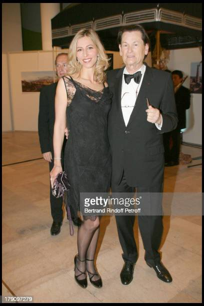 Sally Woodford and Jean Louis Scherrer at Uzbekistan 2020 Charity Dinner Gala At Musee D'Art Moderne De La Ville De Paris