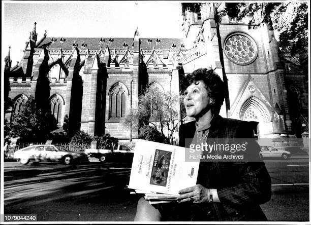 Sallyanne Atkinson the Lord Mayor of Brisbane gives her impressions and thoughts on SydneyPictured in Hyde Park near the Archibald fountain one of...