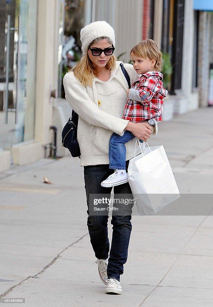 Celebrity Sightings In Los Angeles - November 22, 2013