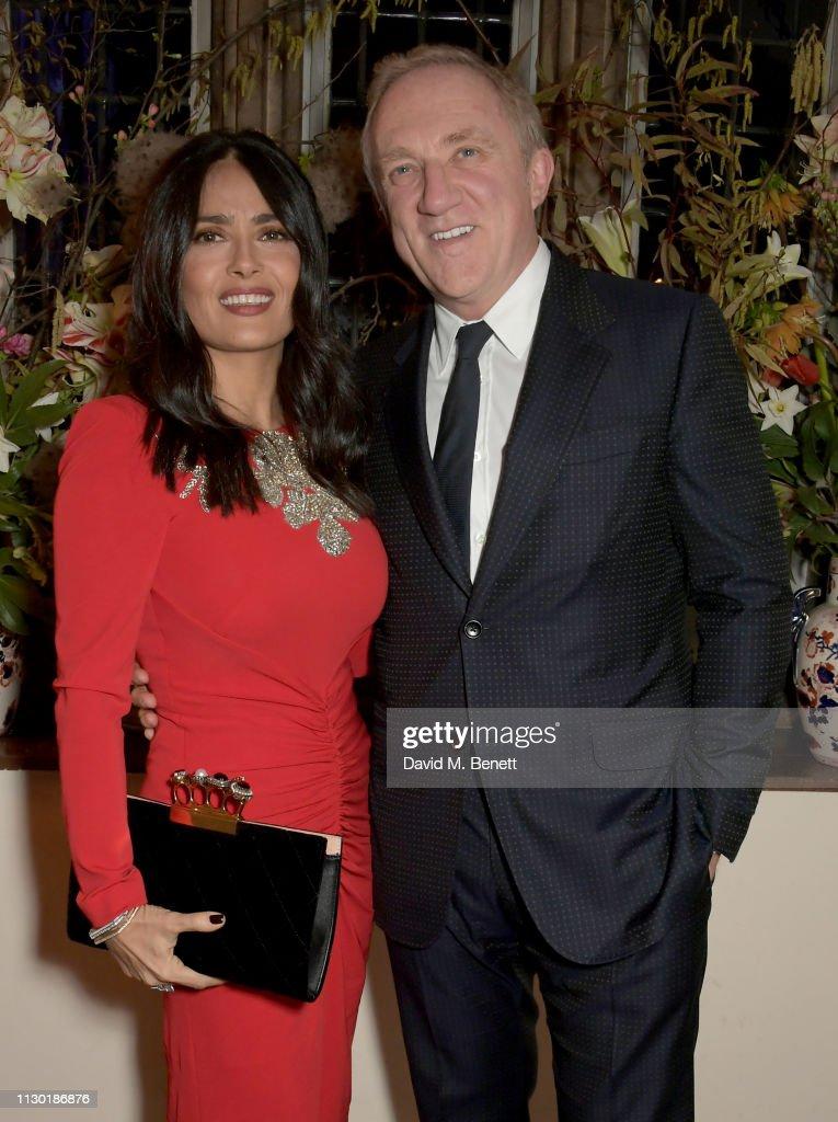 Francois-Henri Pinault Hosts A Dinner With Sarah Burton In Celebration Of The Alexander McQueen Old Bond Street Flagship Store : ニュース写真