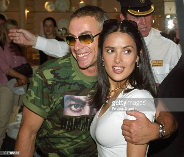 Salma Hayek and JeanClaude Van Damme