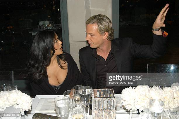 6fbe96439 Salma Hayek and Markus LangesSwarovski attend SWAROVSKI Private Dinner to  Honor the 2006 CFDA Nominees at