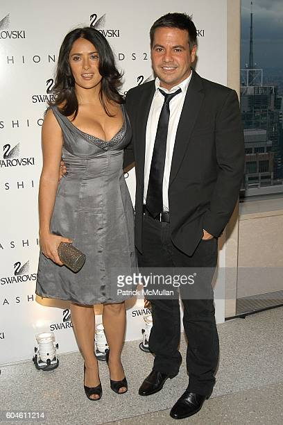 07d96564f Salma Hayek and Narciso Rodriguez attend SWAROVSKI Private Dinner to Honor  the 2006 CFDA Nominees at