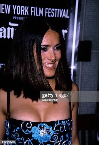 Salma Hayek at New York Film Festival New York October 4 1999