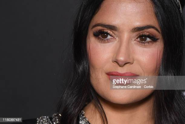 Salma Hayek at Place de la Castre on May 19 2019 in Cannes France