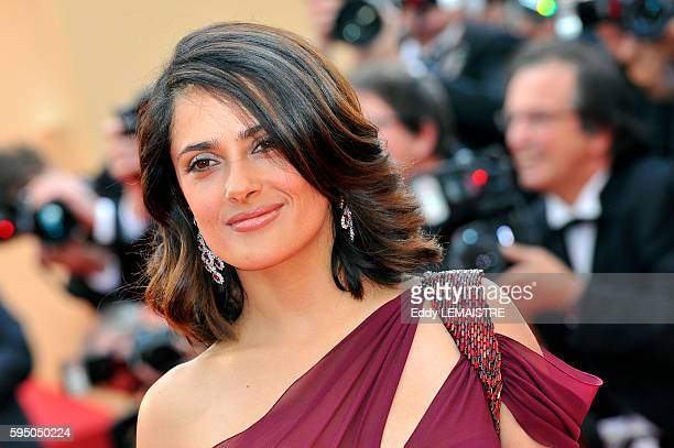 Salma Hayek at the premiere of Robin Hood during the 63rd Cannes International Film Festival