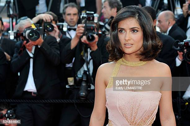 Salma Hayek at the premiere of The Tree during the 63rd Cannes International Film Festival