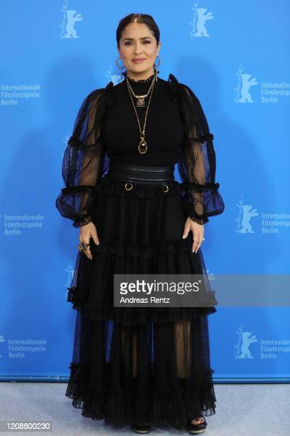 Salma Hayek at the The Roads Not Taken photo call during the 70th Berlinale International Film Festival Berlin at Grand Hyatt Hotel on February 26...