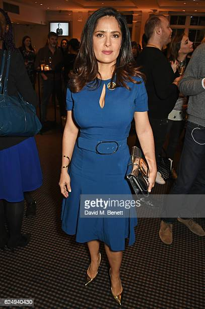 Salma Hayek attends a VIP screening of the awardwinning documentary 'Sonita' hosted by FrancoisHenri Pinault Salma HayekPinault and Stella McCartney...