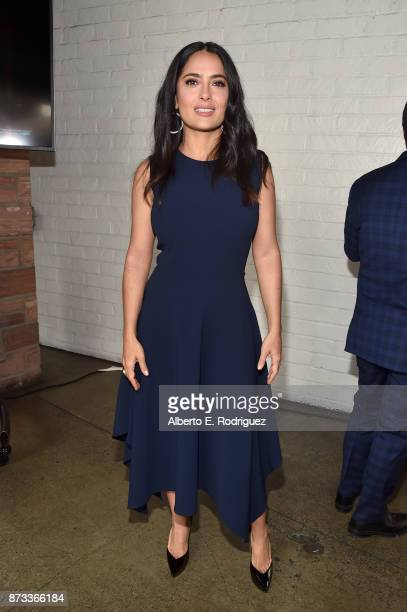 Salma Hayek attends Indie Contenders Roundtable at AFI FEST 2017 Presented By Audi at Hollywood Roosevelt Hotel on November 12 2017 in Hollywood...