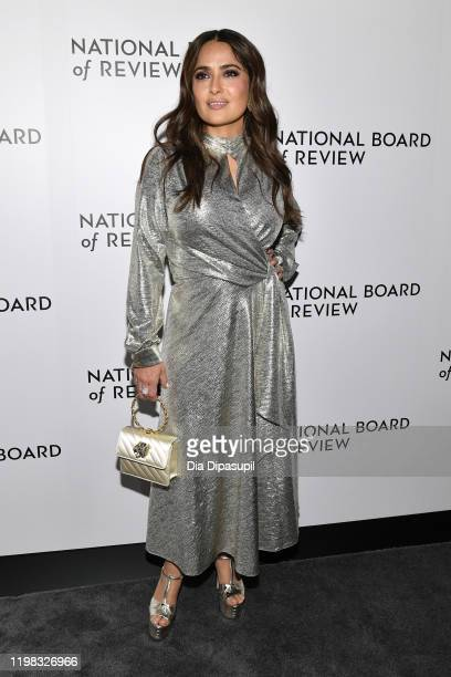 Salma Hayek attends the 2020 National Board Of Review Gala on January 08 2020 in New York City