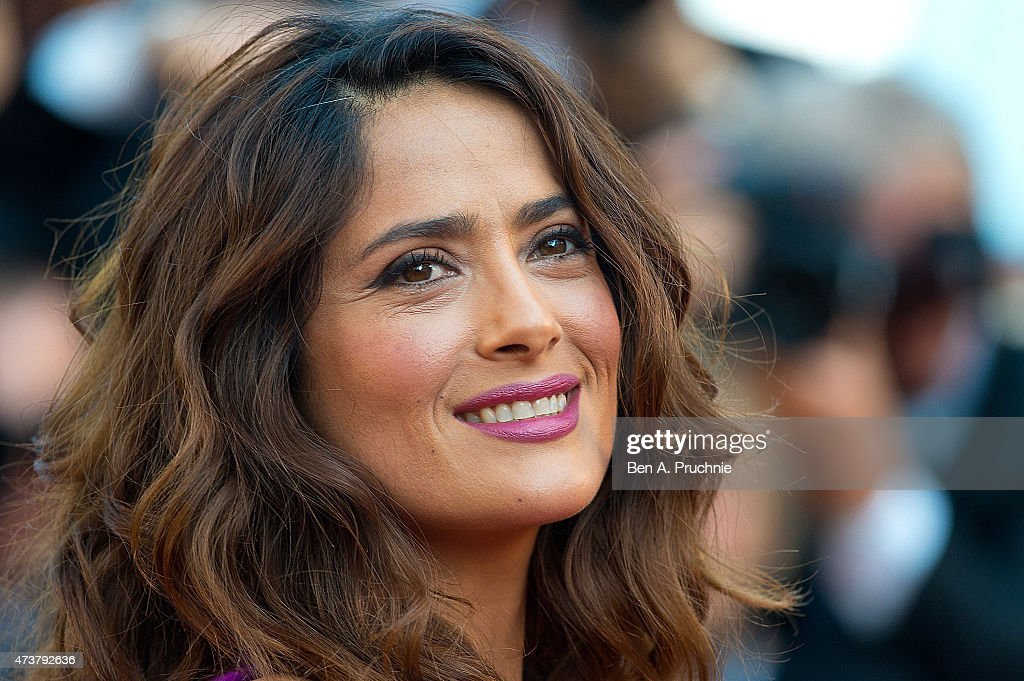 Salma Hayek attends the 'Carol' Premiere during the 68th annual Cannes Film Festival on May 17, 2015 in Cannes, France.