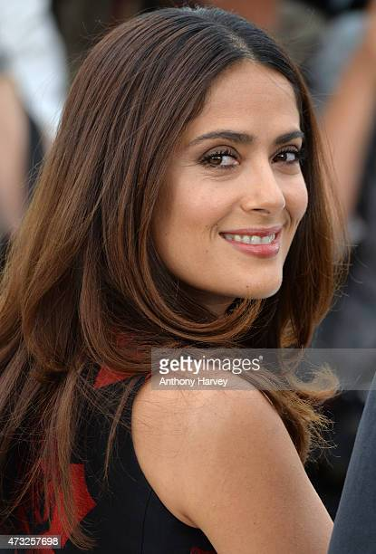 "Salma Hayek attends the ""Il Racconto Dei Racconti"" photocall during the 68th annual Cannes Film Festival on May 14, 2015 in Cannes, France."
