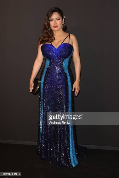 Salma Hayek attends the Kering Women In Motion Awards during the 74th annual Cannes Film Festival on July 11, 2021 in Cannes, France.