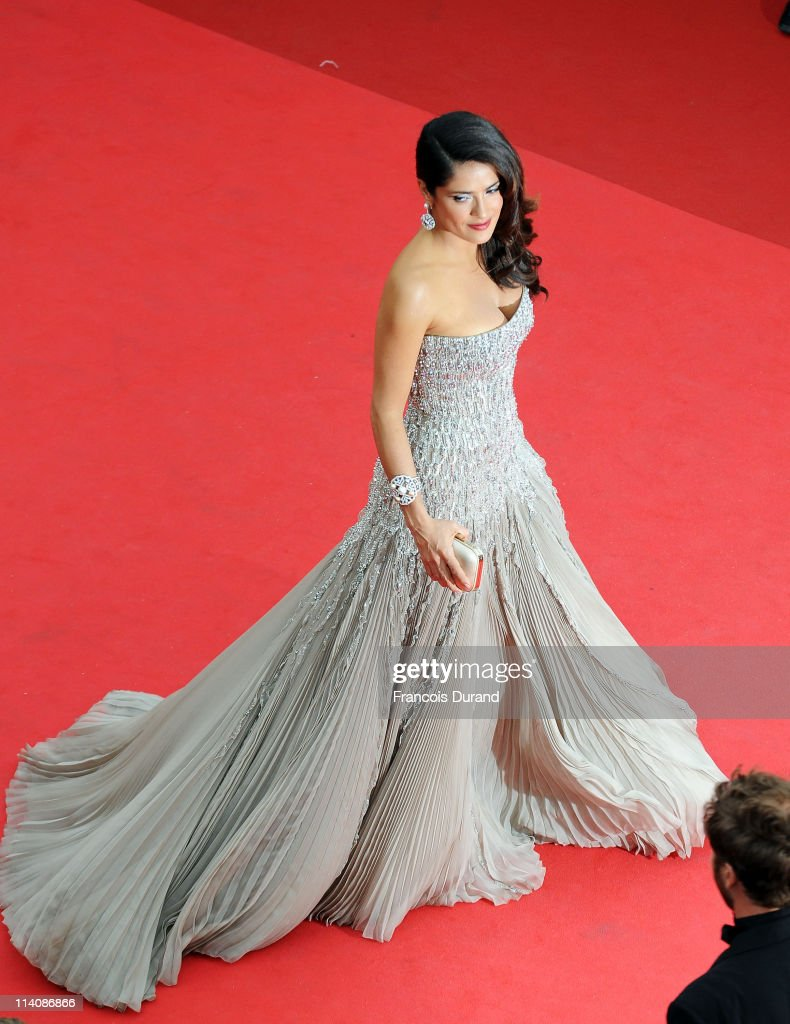 Salma Hayek attends the Opening Ceremony at the Palais des Festivals during the 64th Cannes Film Festival on May 11, 2011 in Cannes, France.