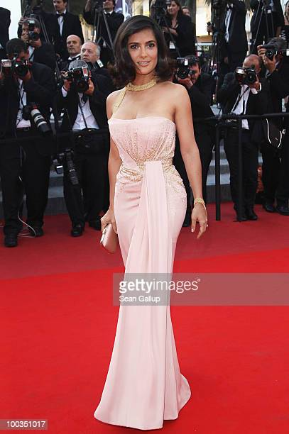 Salma Hayek attends the Palme d'Or Award Closing Ceremony held at the Palais des Festivals during the 63rd Annual Cannes Film Festival on May 23 2010...