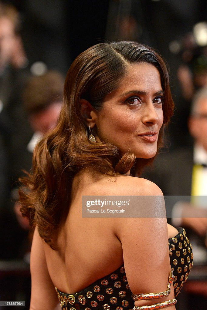 Salma Hayek attends the Premiere of 'Il Racconto Dei Racconti' ('Tale Of Tales') during the 68th annual Cannes Film Festival on May 14, 2015 in Cannes, France.