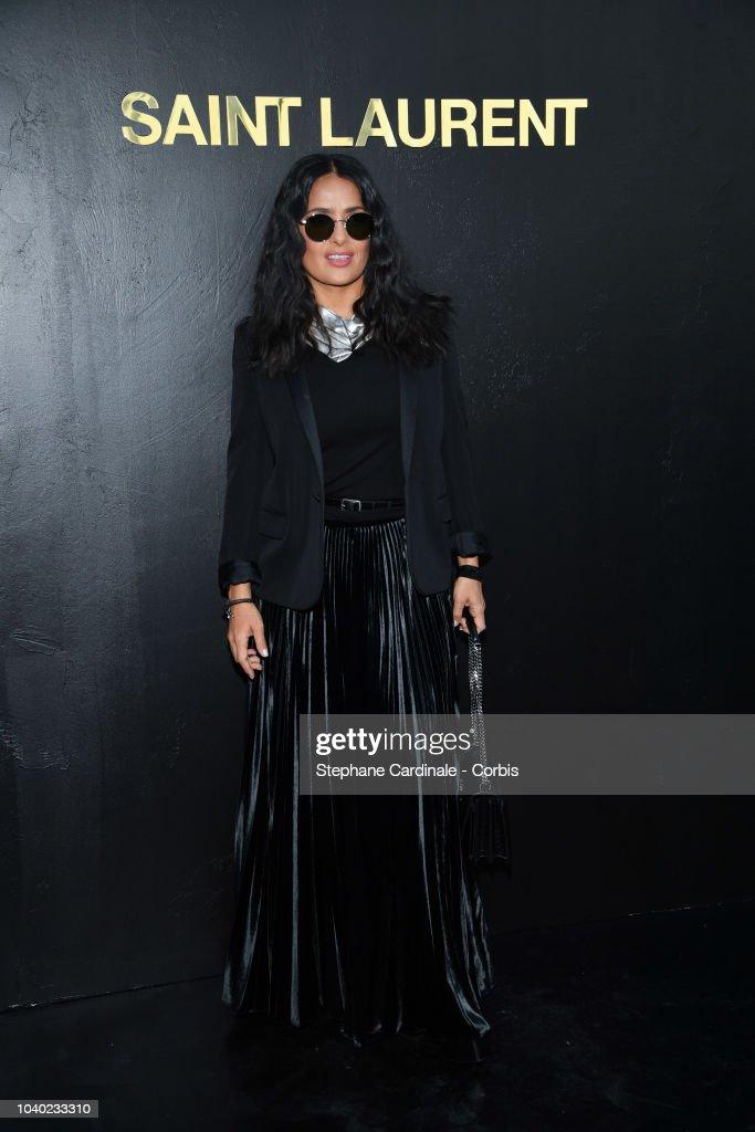 Saint Laurent : Photocall - Paris Fashion Week Womenswear Spring/Summer 2019 : News Photo