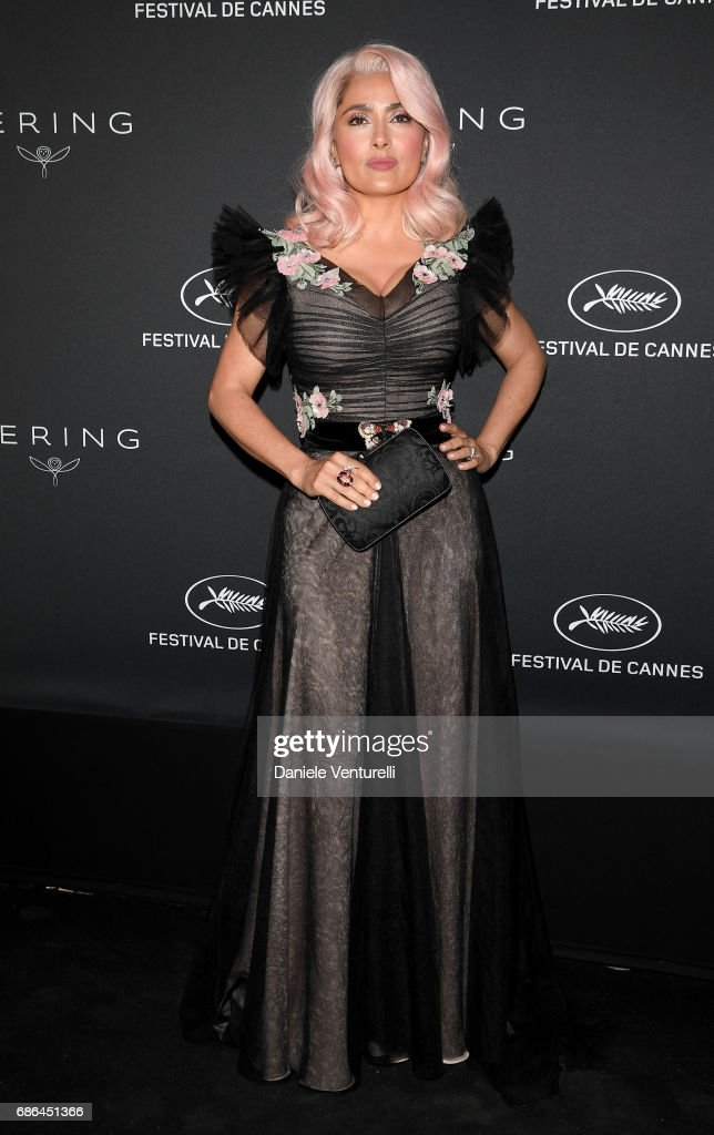 Kering And Cannes Festival Official Dinner : Photocall At The 70th Cannes Film Festival