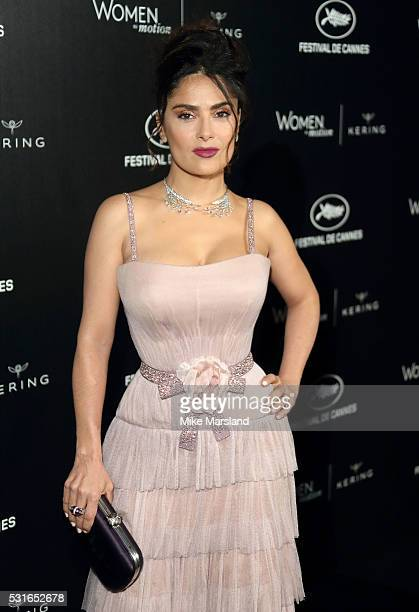 Salma Hayek attends the 'Women in Motion' Prize Reception part of The 69th Annual Cannes Film Festival on May 15 2016 in Cannes France