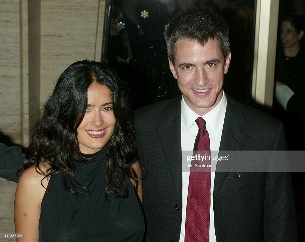 Salma Hayek & Dernot Mulroney during 40th New York Film Festival - Opening Night - 'About Schmidt ' Premiere at Avery Fisher Hall, Lincoln Center in New York, New York, United States.