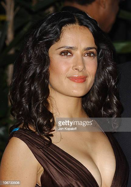 Salma Hayek during 2004 Latin Recording Academy Person of the Year Tribute Event Honoring Carlos Santana Arrivals at The Century Plaza Hotel in...