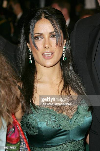 Salma Hayek during 2005 Cannes Film Festival Last Days Premiere at Palais Du Festival in Cannes France