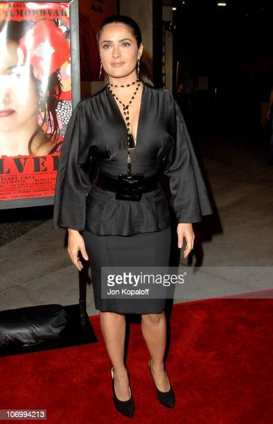Salma Hayek during AFI Fest 2006 Presented by Audi Hosts a Tribute to Penelope Cruz and a Presentation of Volver at ArcLight Theater in Hollywood...