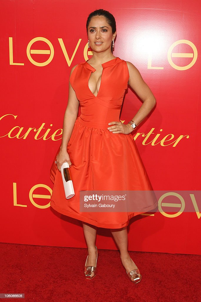 Cocktail Party for The Cartier Charity Love Bracelet : News Photo