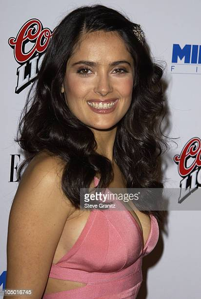 Salma Hayek during Frida Premiere Los Angeles at Los Angleles County Museum of Art in Los Angeles California United States