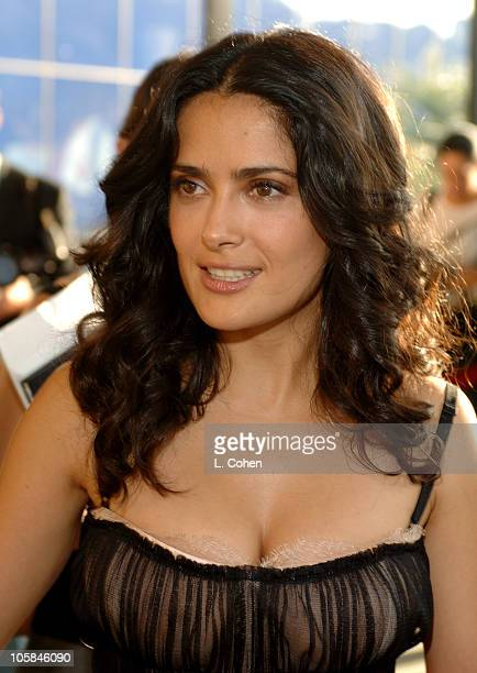 Salma Hayek during Secuestro Express Los Angeles Premiere Red Carpet at Pacific Design Center in Los Angeles California United States