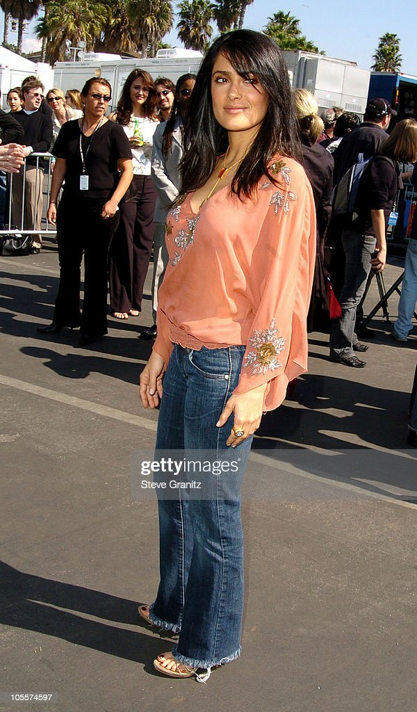 Salma Hayek during The 20th Annual IFP Independent Spirit Awards - Arrivals in Santa Monica, California, United States.