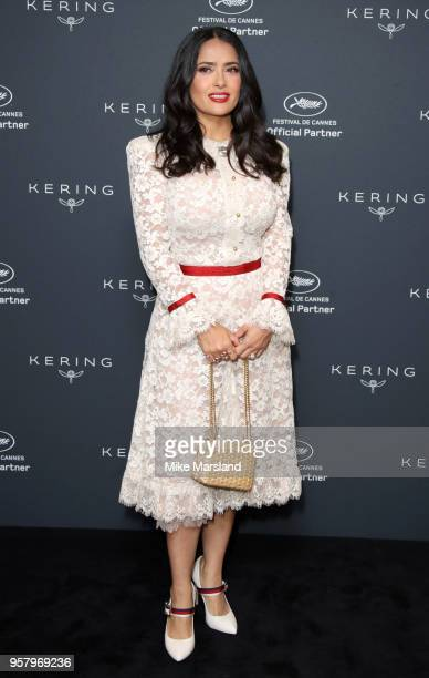 Salma Hayek during the 71st annual Cannes Film Festival at Majestic Hotel on May 13 2018 in Cannes France