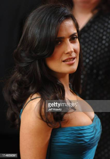 Salma Hayek Cleavage Stock Photos And Pictures Getty Images