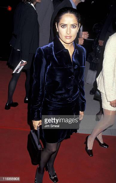 """Salma Hayek during """"The Crucible"""" Los Angeles Premiere at AMPAS Goldwyn Theater in Beverly Hills, California, United States."""