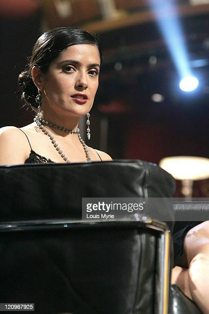 Salma Hayek during The United Negro College Fund Hosts An Evening of Stars Tribute to Quincy Jones - Show in Hollywood, California, United States.