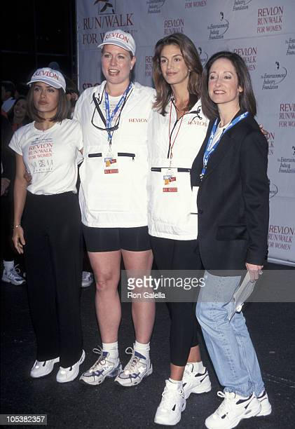 Salma Hayek Emme Cindy Crawford and Lilly Tartikoff