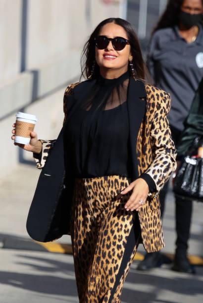 CA: Celebrity Sightings In Los Angeles - October 14, 2021