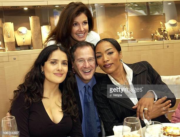 Salma Hayek, Martin Katz, Kelly Katz and Angela Basset