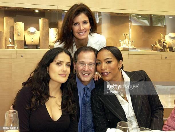 Salma Hayek, Martin Katz, Kelly Katz and Angela Bassett