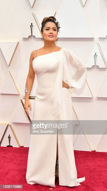Salma Hayek Pinault attends the 92nd Annual Academy Awards at Hollywood and Highland on February 09 2020 in Hollywood California