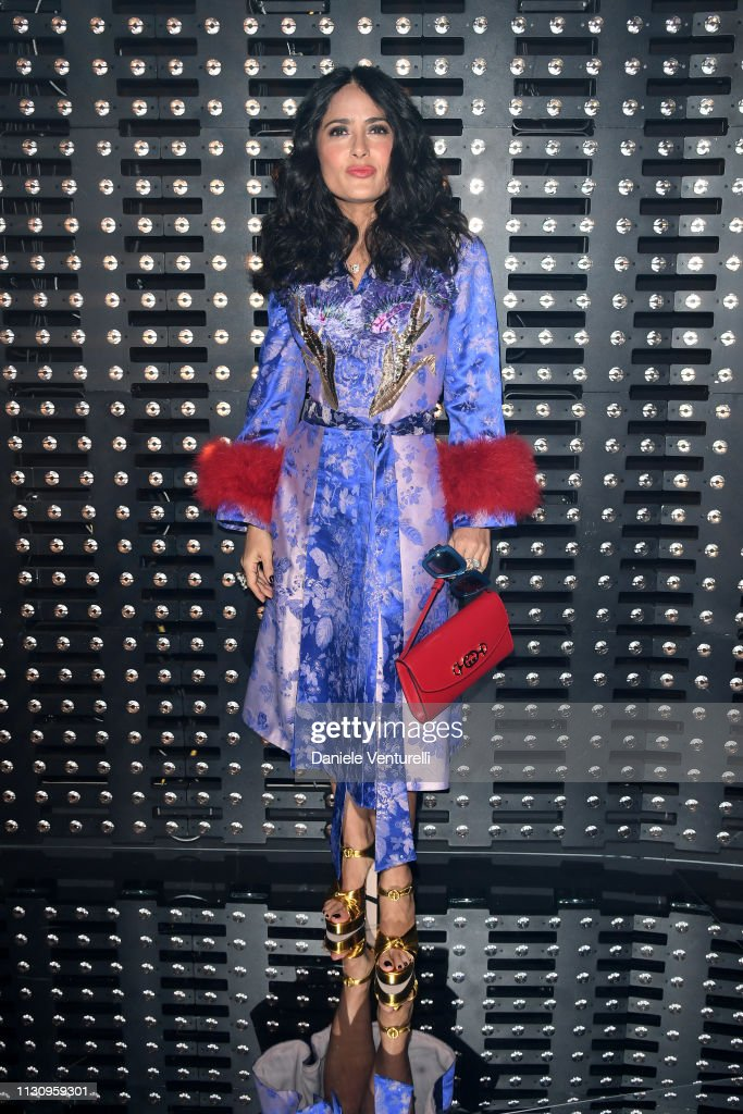 Gucci - Front Row - Milan Fashion Week Autumn/Winter 2019/20 : News Photo