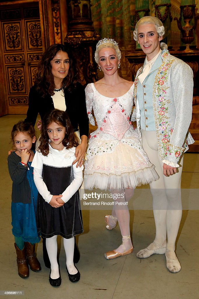 Salma Hayek, with her daughter Valentina Paloma Pinault and