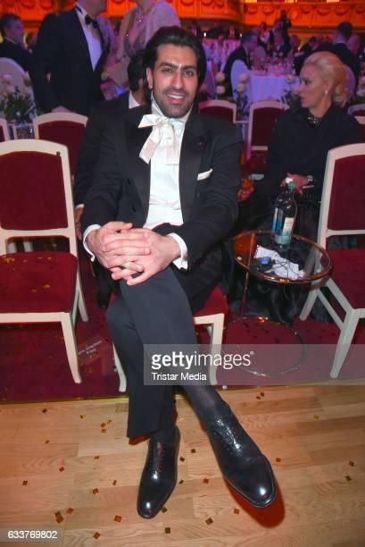 Salman bin Abdulaziz bin Salman bin Muhammad al Saud during the Semper Opera Ball 2017 at Semperoper on February 3 2017 in Dresden Germany